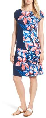 Tommy Bahama Le Tigre Floral Cap Sleeve Dress