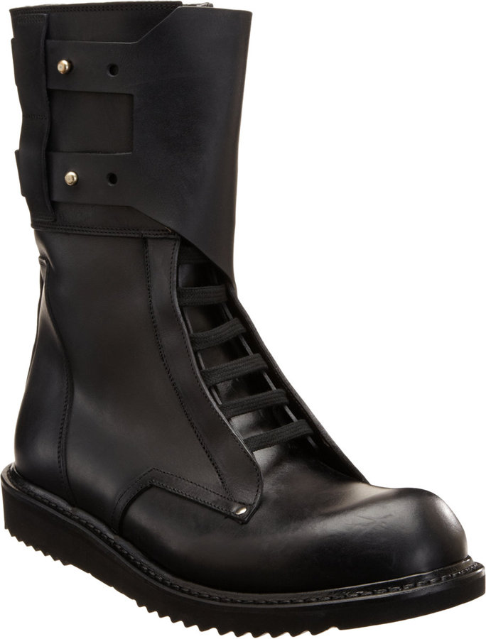Rick Owens Military Boot
