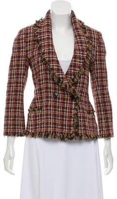 Etoile Isabel Marant Double-Breasted Tweed Blazer