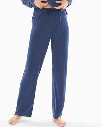 Splendid Fashion Always Wide Leg Pajama Pants Deep Pacific
