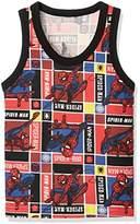 Marvel [マーベル]スパイダーマンタンクトップ ボーイズ レッド 日本 120 (日本サイズ120 相当)