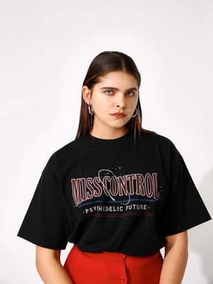 Moussy (マウジー) - MISS CONTROL Tシャツ