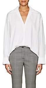 Acne Studios Women's Cotton Poplin Oversized Tunic-White
