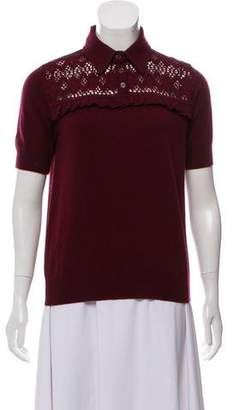Bottega Veneta Short Sleeve Knit Top