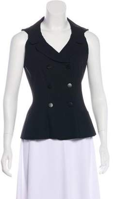 Chanel Double-Breasted Wool Vest