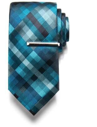 Apt. 9 Men's Patterned Tie & Tie Bar