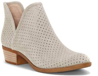 Lucky Brand Brooklin Perforated Suede Bootie