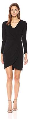 Velvet by Graham & Spencer Women's Stretch Jersey Surplice Dress