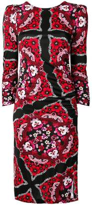 Pinko printed midi dress