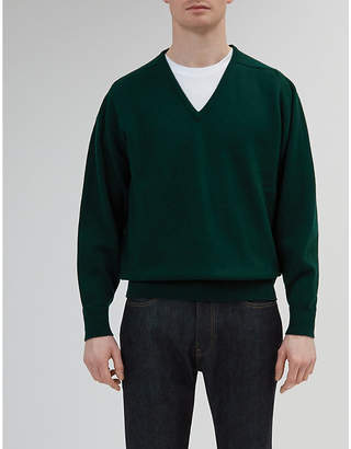 Community Clothing V-neck lambswool jumper