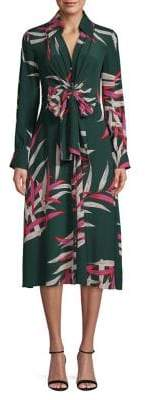 Diane von Furstenberg Silk Von Wrap Dress