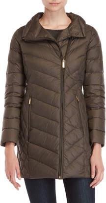 MICHAEL Michael Kors Packable Asymmetrical Down Coat