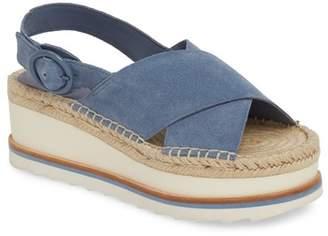 Marc Fisher Glenna Platform Slingback Sandal (Women)