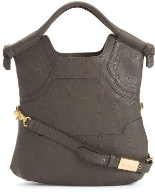 Essential City Tote With Crossbody Strap