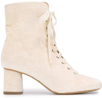 Forte Forte lace-up ankle boots