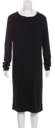 Raquel Allegra Long Sleeve Scoop Neck Dress