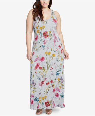 Rachel Roy Trendy Plus Size Racerback Maxi Dress