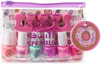 Simple Pleasures Sprinkles 6 Color Nail Polish Set
