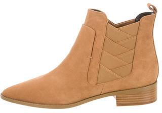 Rebecca MinkoffRebecca Minkoff Suede Round-Toe Ankle Boots