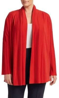 Marina Rinaldi Marina Rinaldi, Plus Size Knit Open-Front Cardigan