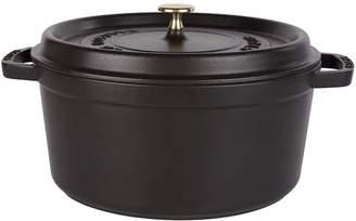 Staub Black Round Cocotte (28cm)