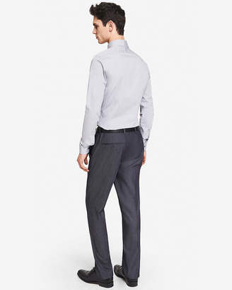 Express Slim Photographer Twill Navy Suit Pant