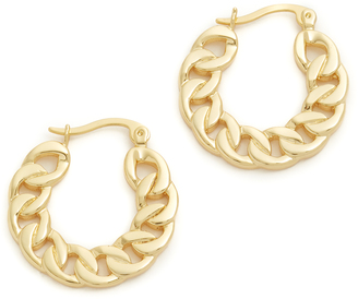 Vanessa Mooney The Neptune Hoop Earrings $60 thestylecure.com