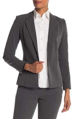 Halogen Ela One-Button Stretch Suit Jacket