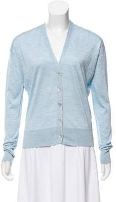 Calvin Klein Silk Long Sleeve Cardigan w/ Tags