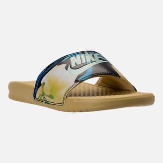 Nike Women's Benassi JDI Print Slide Sandals