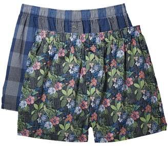 Tommy Bahama Seersucker Boxer Set Men's Underwear