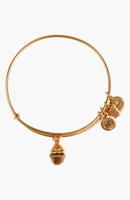 Alex and Ani 'Charity by Design - Cupcake' Expandable Wire Bangle