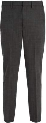 Neil Barrett Mid-rise pinstriped trousers
