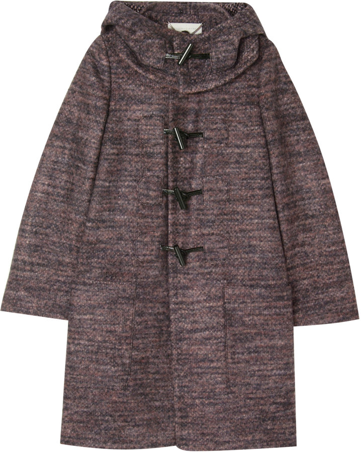 Stella Mccartney Hooded Toggle Coat