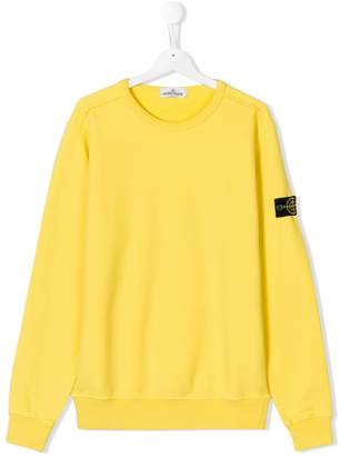 Stone Island Junior plain sweater