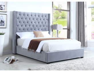 BestMasterFurniture High Profile Upholstered Platform Bed