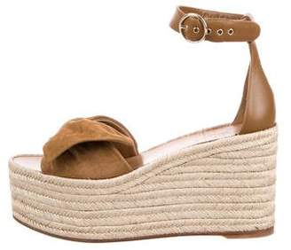 Valentino Espadrille Wedge Sandals w/ Tags