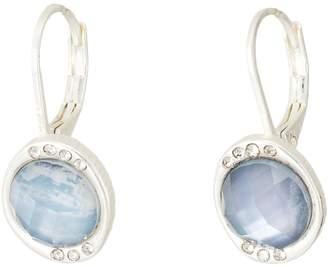 The Sak Stone Pave Drop Earrings Earring