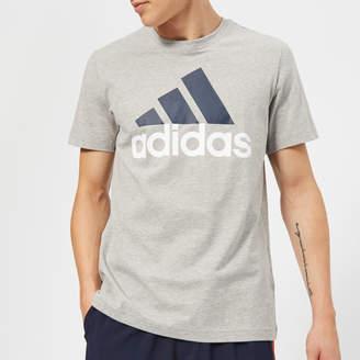 adidas Men's Essential Big Logo T-Shirt