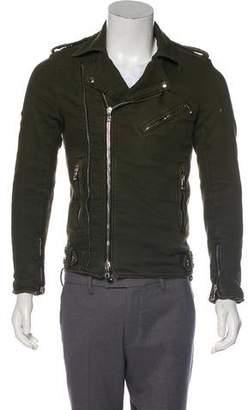 Balmain Woven Moto Jacket