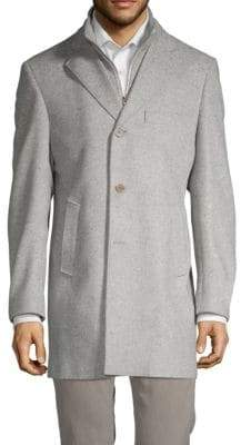 Saks Fifth Avenue Long-Sleeve Wool Jacket