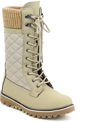 Taupe Polar Boot - Women $59.99 thestylecure.com