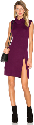 BCBGMAXAZRIA Side Slit Sweater Dress $198 thestylecure.com