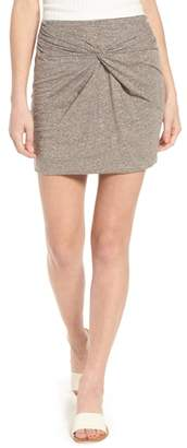 BP Knot Front Skirt