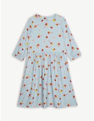 Stella McCartney Flower sticker crepe dress 4-15 years