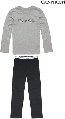 Next Boys Calvin Klein Grey Pyjama Set