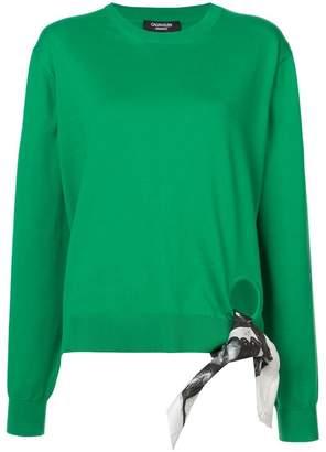 Calvin Klein x Andy Warhol scarf detail top