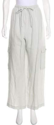 eskandar High-Rise Linen Pants w/ Tags