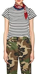 NSF Women's Alessi Striped Cotton T-Shirt - Navy