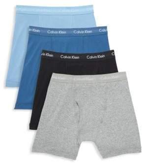 Calvin Klein Four-Pack Boxer Briefs